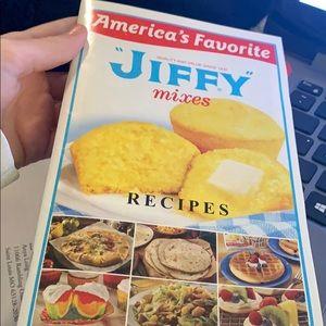 Jiffy recipe book
